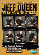 Hudson Music  - Jeff Queen - Playing with Sticks - An In-depth Guide to Rudiments and Hand Techniques