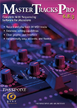 Passport Music Software  - Master Tracks Pro 6.8.4 Windows - Educational Edition