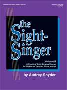 Alfred Publishing  - The Sight-Singer, Volume II for Unison/Two-Part Treble Voices