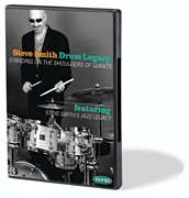 Hudson Music  - Steve Smith - Drum Legacy: Standing on the Shoulders of Giants - 2-DVD Set with Bonus CD