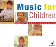 Schott  - Music for Children - Accompaniment CDs (Set of 3)
