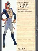 Ricordi  - L'elisir d'amore - Vocal Score - Italian only