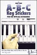 Hal Leonard  - ABC Keyboard Stickers