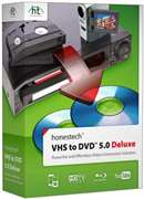 HONEST TECHNOLOGY  - VHS TO DVD 5.0 DELUXE - Hardware/Software - Needs a Windows PC to work