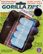 Alfred Publishing  - Gorilla Tips Fingertip Protectors Large Clear