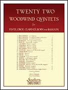 Albert Andraud, Charles Neidich, Southern Music Co.  - 22 Woodwind Quintets - New Edition - Woodwind Quintet
