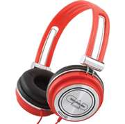CAD Audio  - Closed-back Studio Headphones - 40mm Drivers - Red